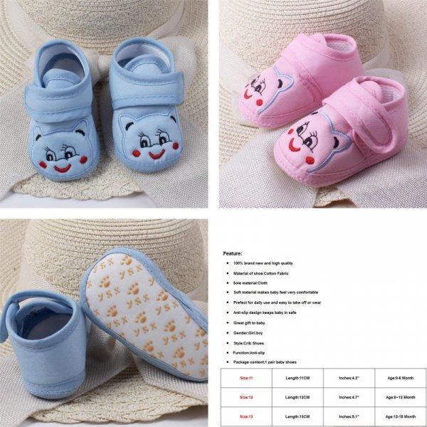 Пинетки для младенца (3 цвета)