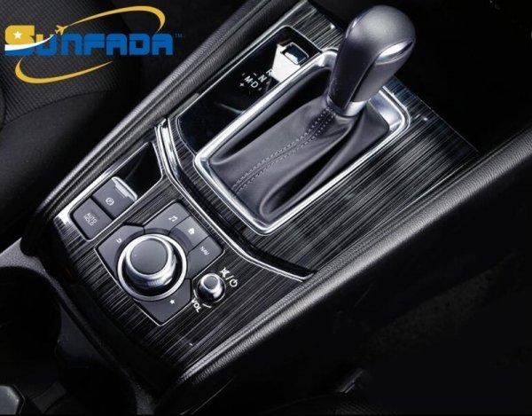 Стильная рамка на коробку передач для Mazda CX-5 (6 видов, 2017 2018)