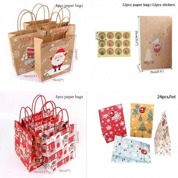 Новогодний подарочный пакет Cyuan (42 вида)