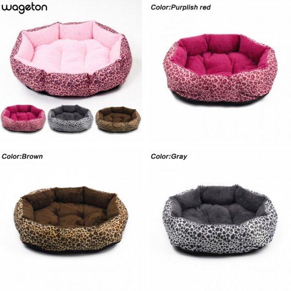 Шикарная лежанка для собак Wageton (6 цветов, 2 размера)