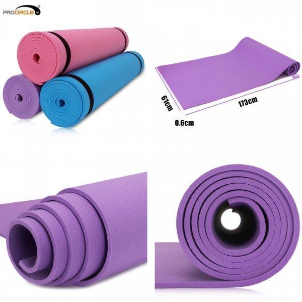 Отличный коврик для пилатеса и йоги Procircle (173*61 см, 6 мм, 3 цвета)