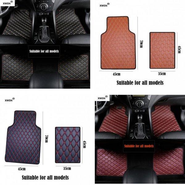 Стильные автоковрики для BMW (1 шт, g30,  e90)