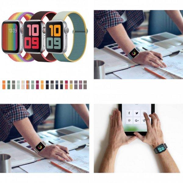 Ремешок для apple watch 3,4 от HYLZXH (60 цветов)