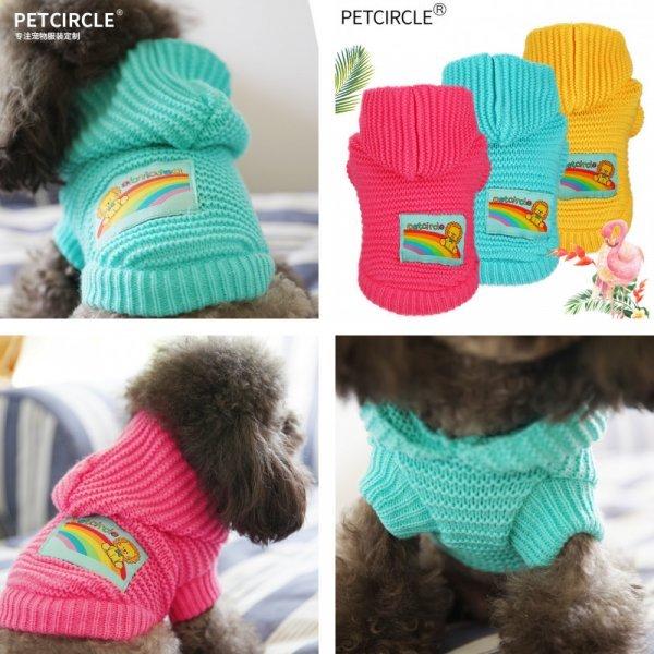 Мягкий свитерок для йоркширского терьера PETCIRCLE