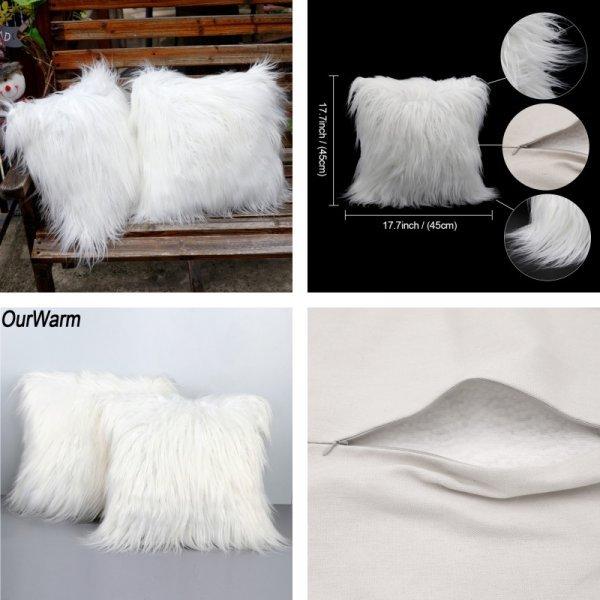 Праздничная наволочка на подушку OurWarm (4 вида)