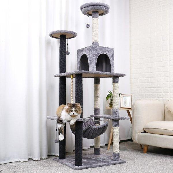 Игровой комплекс с когтеточкой для кошек Speedy pet