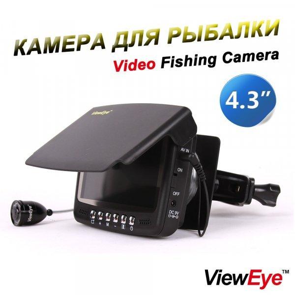 "Камера для рыбалки ViewEye 4.3"" с датчиками (до 30 м)"