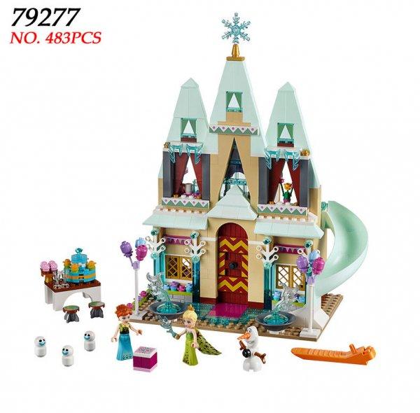Собери конструктор Замок для принцессы (483 шт)