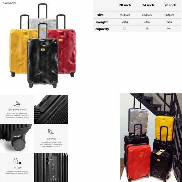 Стильный чемодан Travel tale (3 размера, 6 цветов)