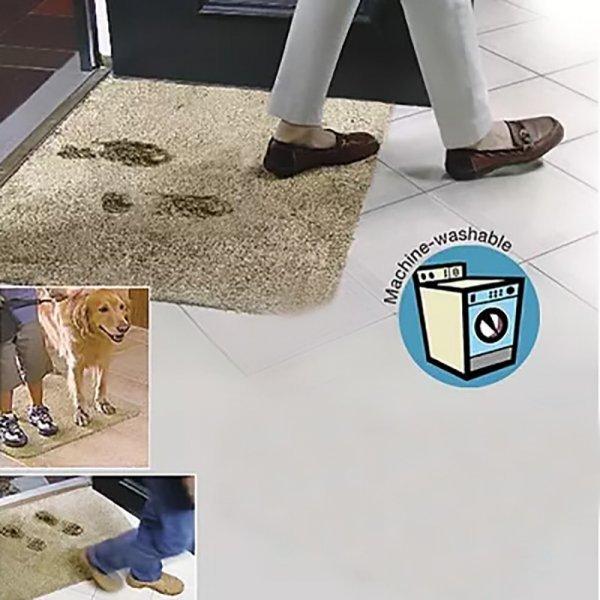 Чудо коврик-поглотитель грязи MISS ROSE (46*71 см, 2 цвета)