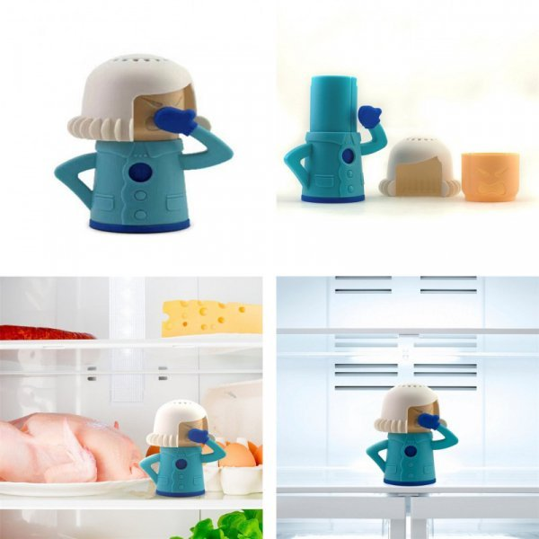 Поглотитель неприятных запахов для холодильника и микроволновок