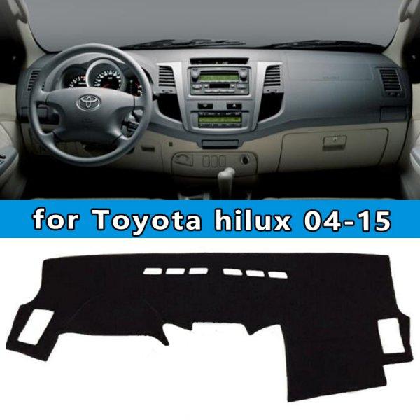 Коврик на панель для Toyota Hilux SW4 Vigo Pick Up 2004 - 2015 (1 шт)