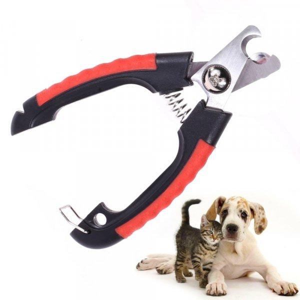 Универсальные кусачки для когтей кошки и собаки (2 размера)