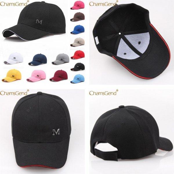 Однотонная кепка CHAMSGEND (14 цветов)