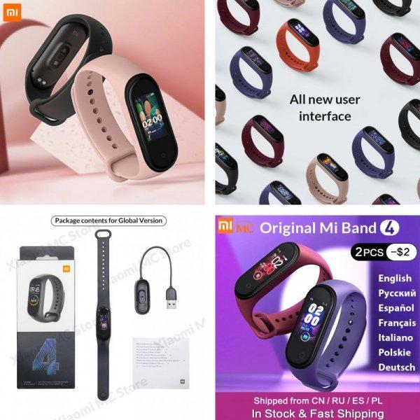 Фитнес браслет Xiaomi mi Band 4 Smart