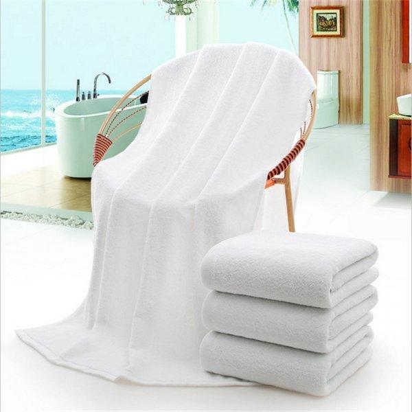 Белоснежное полотенце  как в отеле  (3 цвета, 70*140 см)