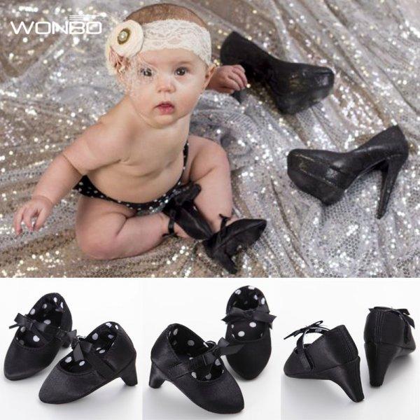 Первые туфли на каблуках для младенца (0-1 года)