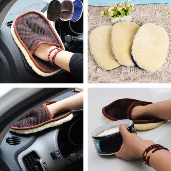 Перчатка для полировки пластика авто BU-Bauty (иск.мех)