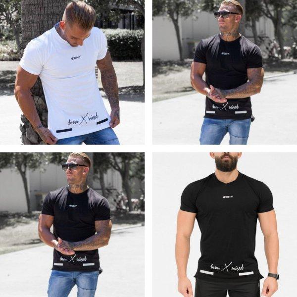 Стильная футболка для мужчин (2 цвета, 4 размера)
