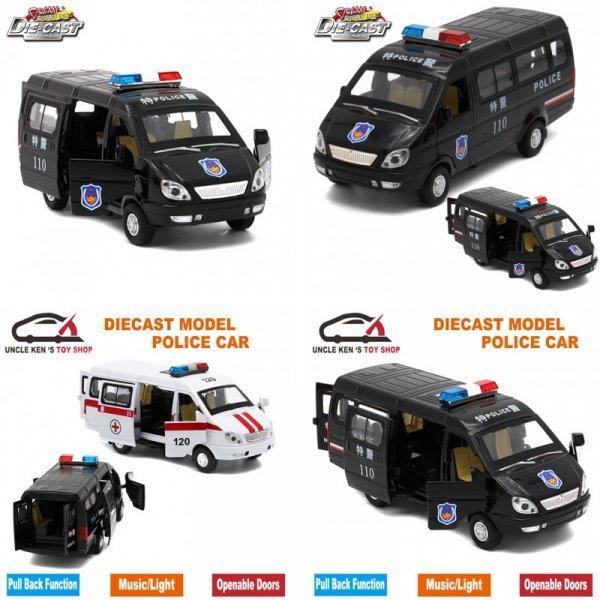 Машинка Полиция  (1:32) - отличная игрушка
