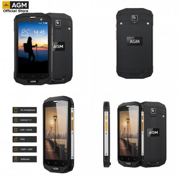 """Смартфон на 2 симкарты AGM A8 5 """"4G LTE Android 7,1"""