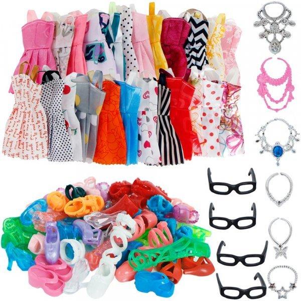 Комплект одежды для Барби BJDBUS (30 шт)