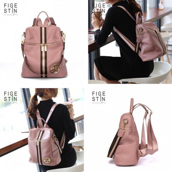 Роскошный рюкзак из натуральной кожи от FIGESTIN