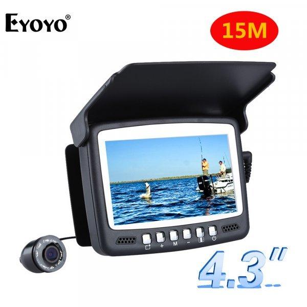 Подводная камера для рыбалки Eyoyo 1000TVL 4.3' (15 м)