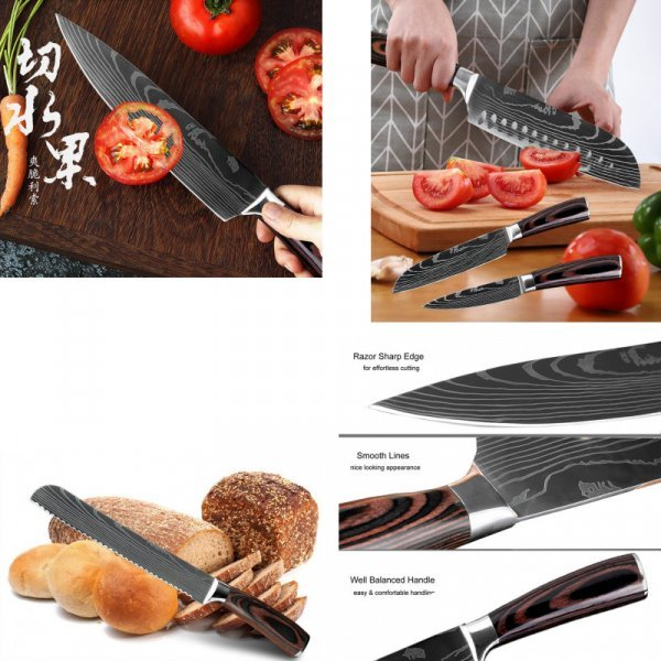 Кухонный нож XITUO (16 видов)