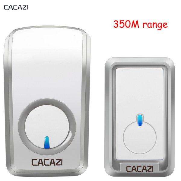 Мелодичный дверной звонок CACAZI (48 мелодий, 350 м)