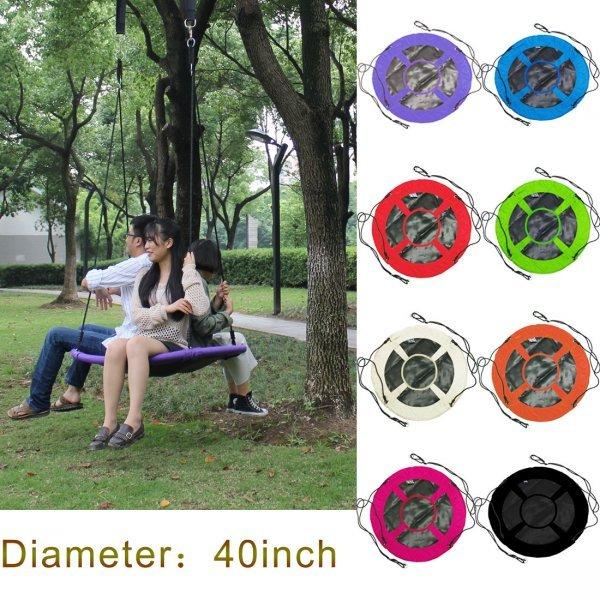 Чумовые качели HI SUYI для всей семьи (d=100 см, 8 цветов)
