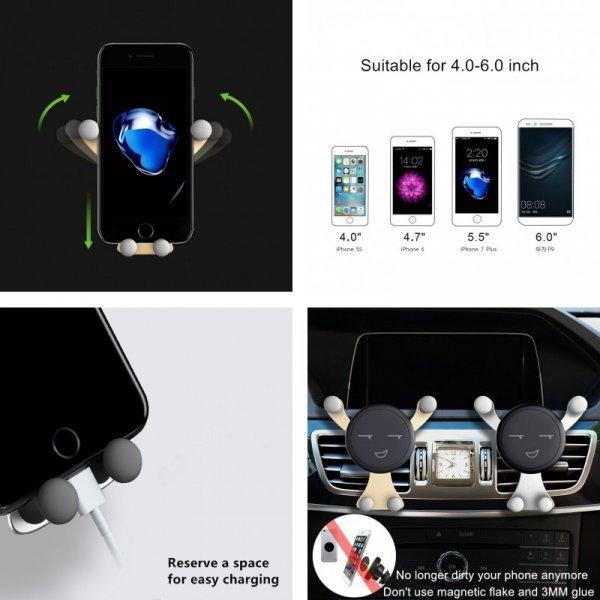 Автомобильный держатель для телефона Gravity