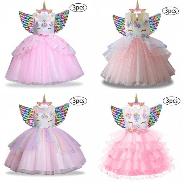 Карнавальный костюм для девочки  KEAIYOUHUO (23 цвета, 9 размеров)