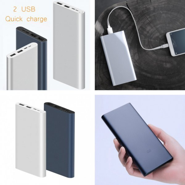 Павербанк Xiaomi Mi Power Bank 3 Quick Charge