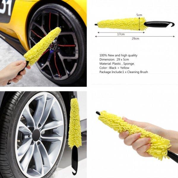Щетка для мытья колес машины ASMILE