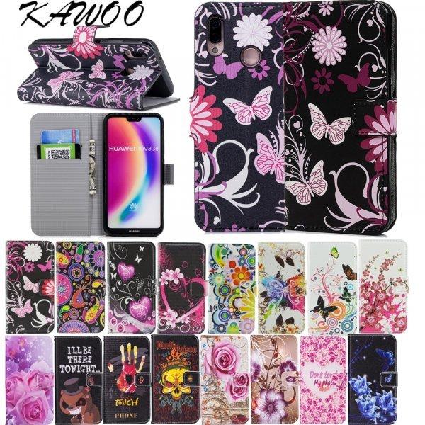 Чехол-книжка для смартфона (Huawei P20 Lite P10 P20 Honor 9 Lite)