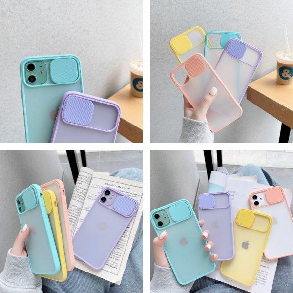 Бампер для телефона с защитой объектива RHR (8 цветов)