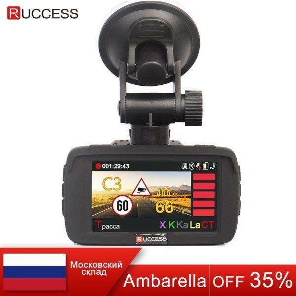 Видеорегистратор с радар детектором Ruccess LD100 (3 в 1)