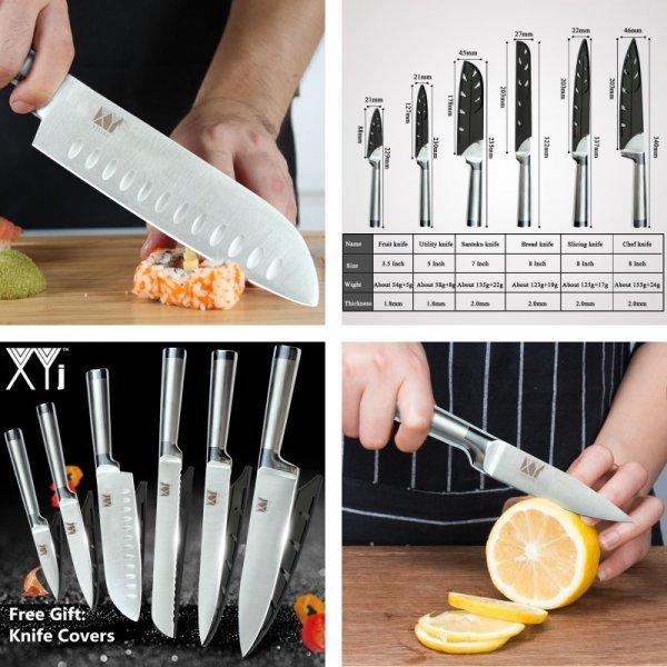 Ножи XYj (6 шт)