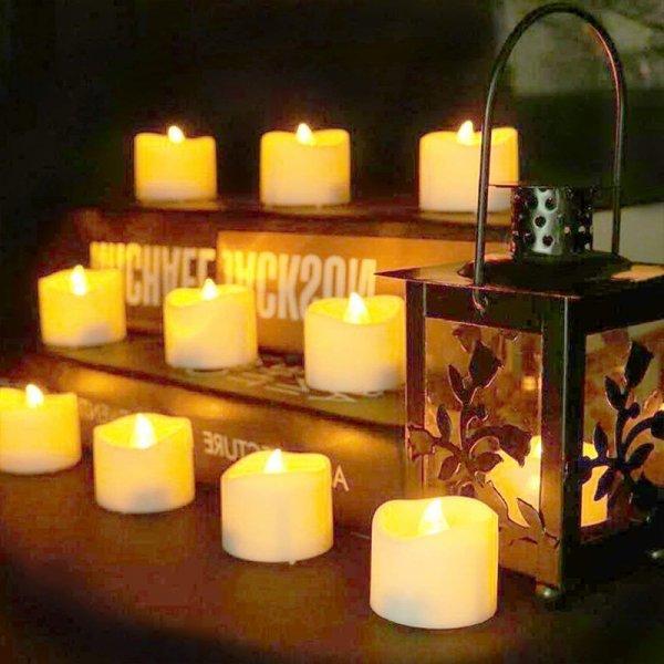 Светодиодные свечи Yeahmart  (12,24 шт)