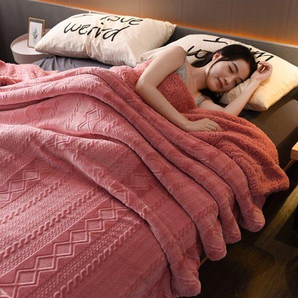 Нежное покрывало для сладких снов YMQY (2 размера, 16 цветов)