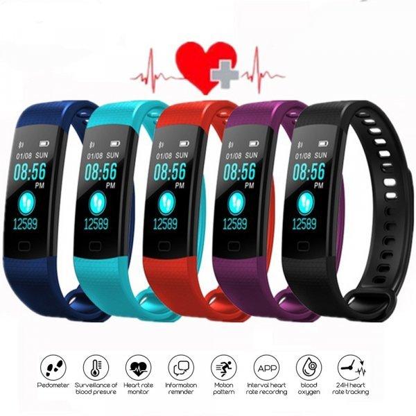 Фитнес-браслет с измерением сердечного ритма ColMi (5 цветов)