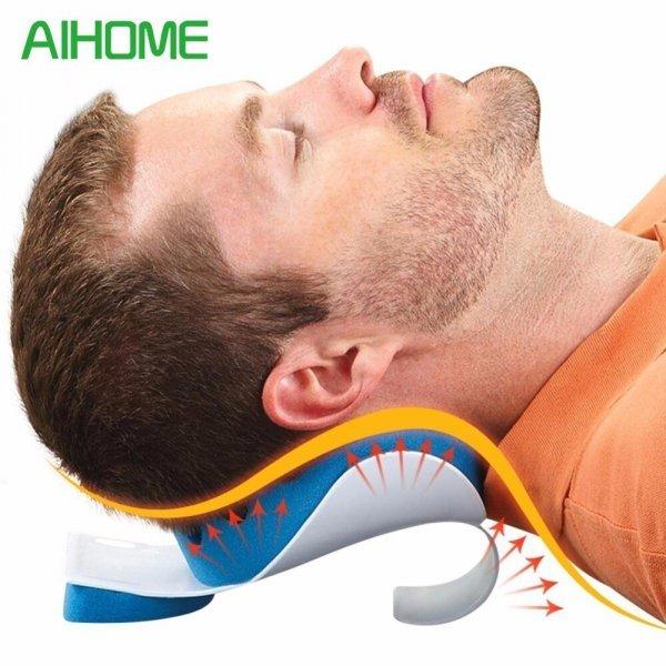 Удобная шейная подушка для сна как лежа, так и сидя AIHOME