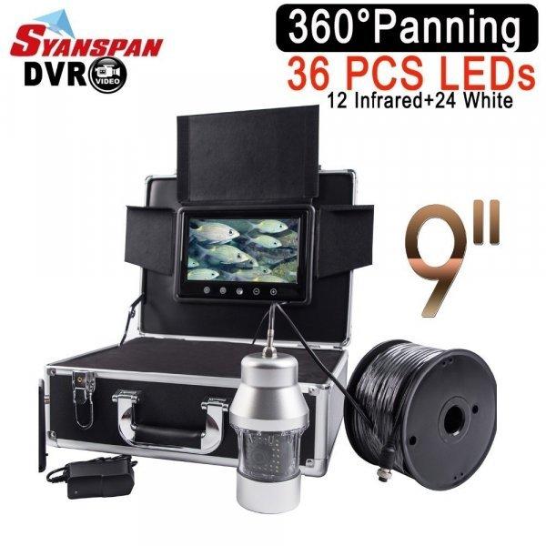 """Подводная камера для рыбалки Syanspan 9"""" (до 183 м)"""