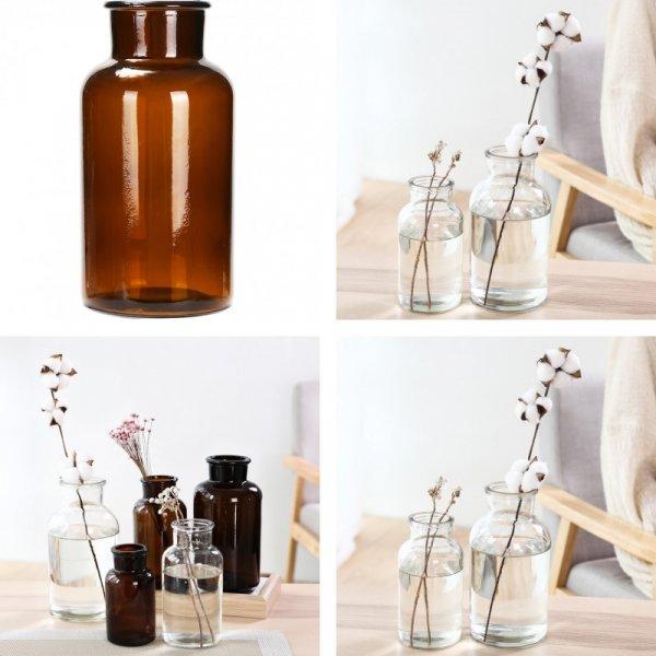 Стеклянная ваза (3 вида)
