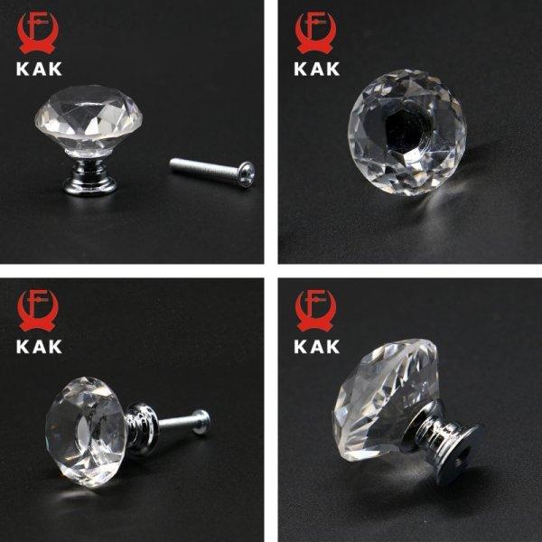 ХИТ! Сферическая ручка для дверей KAK (20*23, 30*30, 40*34 мм)