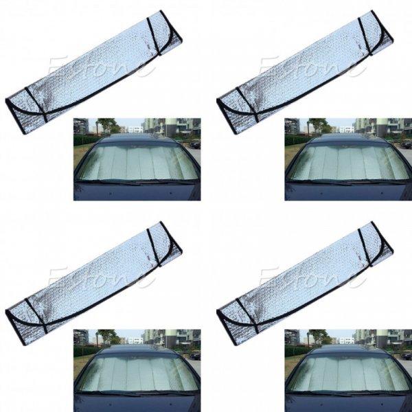 Защита лобового стекла от столнца QILEJVS (128*59 см)