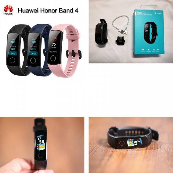 Умный браслет Huawei Honor Band 4 на страже здоровья