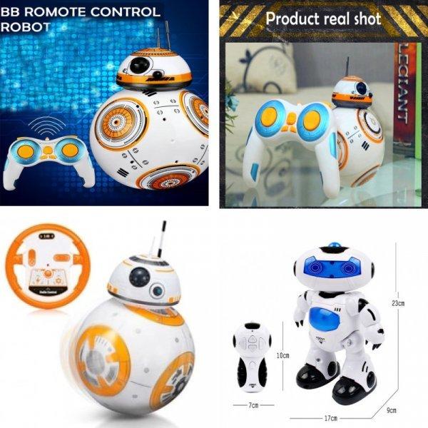 Робот-дроид с дистанционным управлением KAINISI (2 вида)