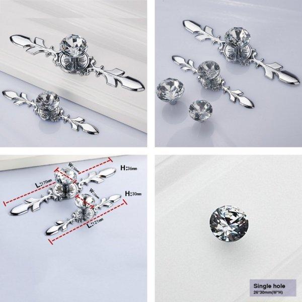 Декоративная ручка для мебели G8G98D (4 варианта)